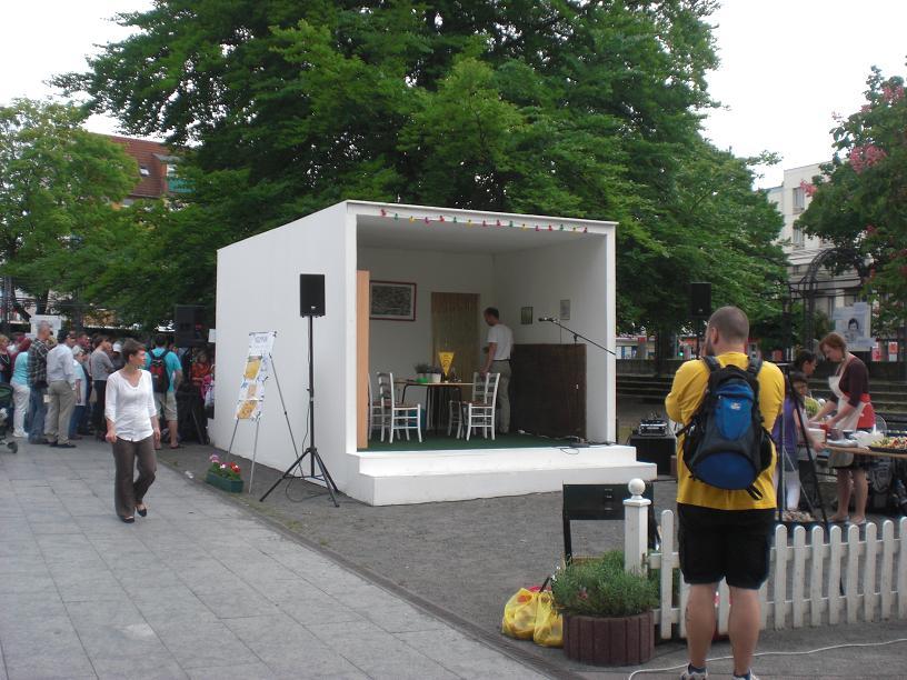 Impressionieren auf Neumann-Festival 2012 in Berlin
