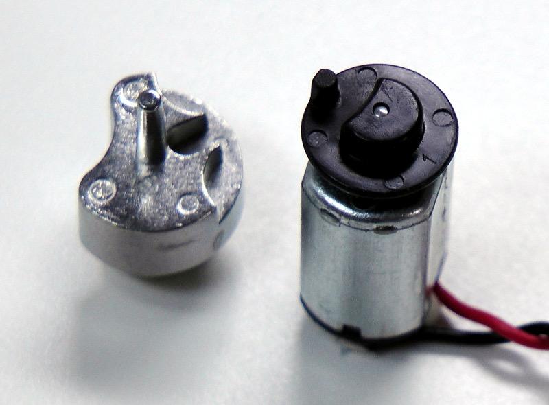 Motor und Sperrelement